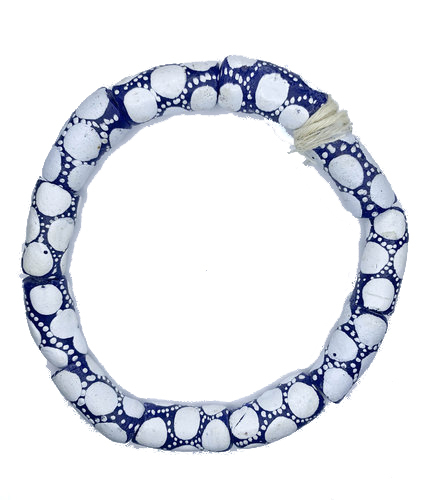 Elorm Handmade African Tube Beads, From Recycled Glass